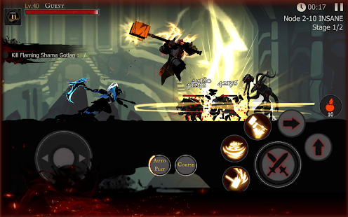 ☠☠Shadow of Death: Stickman Fighting -Offline Game Screenshot