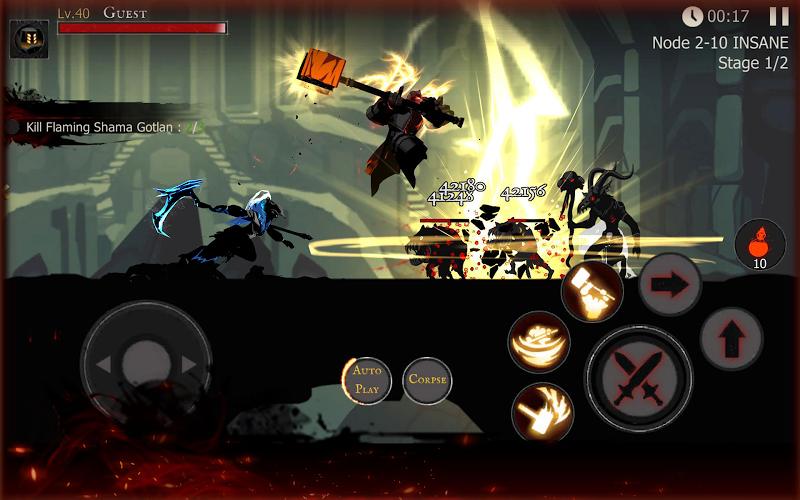 Shadow of Death: Dark Knight - Stickman Fighting Screenshot 17
