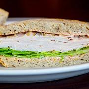 Turkey on Rye (Half Sandwich)