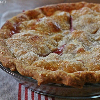Rhubarb Pineapple Pie