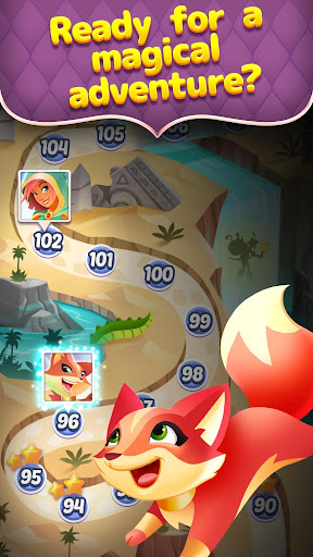 Genies & Gems - Jewel & Gem Matching Adventure - screenshot