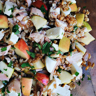 Farro Apple Mozzarella Salad