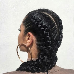 braids hairstyles for women 2018 - náhled