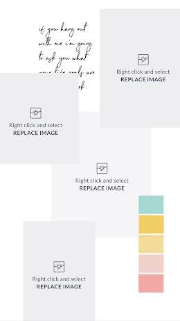 Pastel Rainbow Mood Board - Mood Board item