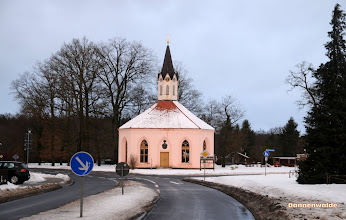 Photo: Rad Wander Kirche in Dannenwalde bei Gransee gehört zum Kirchspiel Tornow.  Das Gut war von 1692-1945 im Besitz der Familie von Waldow.