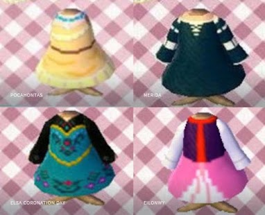 Princess Clothes for Animal Crossing - náhled