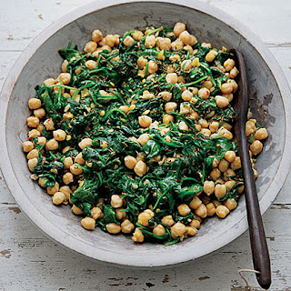 Slow-Cooker Chickpeas with Cumin and Spinach