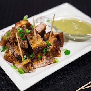 Crispy Keto Pork Bites.