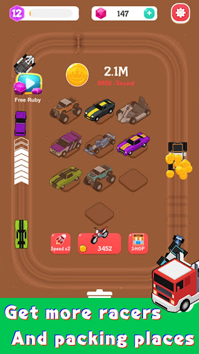 Merge Car Racer - Idle Rally Empire 2.7.0 screenshots 14