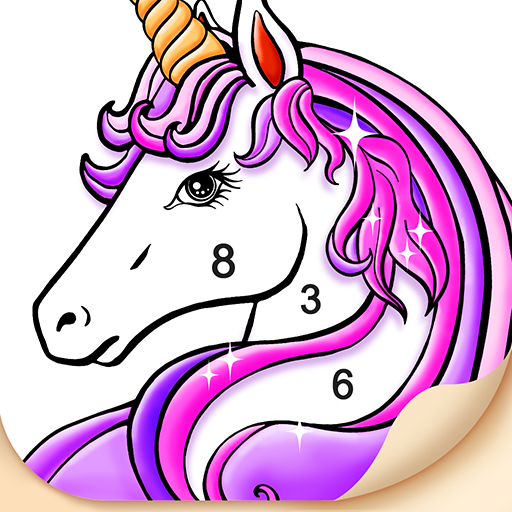 Tap Color – Free Color By Number Art Game Icon