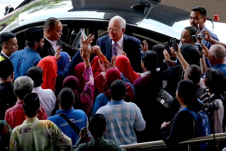 Malaysia's Najib Razak says he is not guilty in trial over