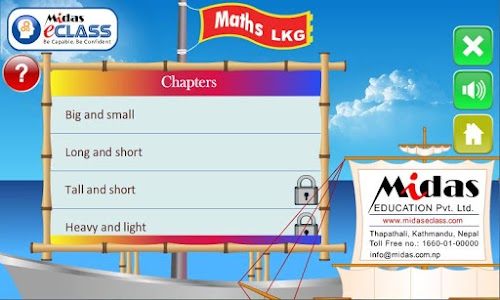 MiDas eCLASS LKG Maths Demo screenshot 3