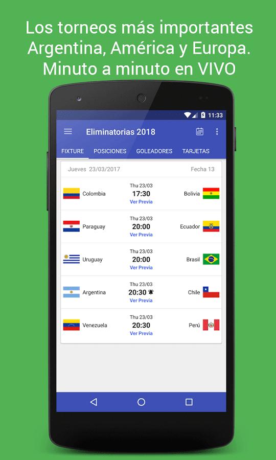 Screenshots of La Liga - Argentinian Football for iPhone