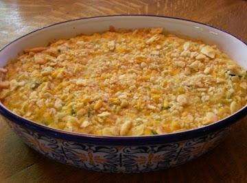 Ritz Zucchini Cheddar Casserole Recipe
