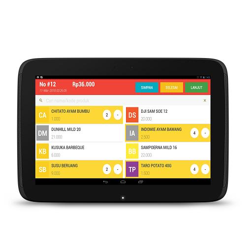 Kasir Usaha Point Of Sale Aplikasi Di Google Play