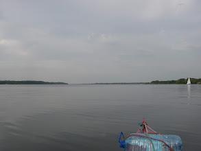 Photo: na jeziorze tafla
