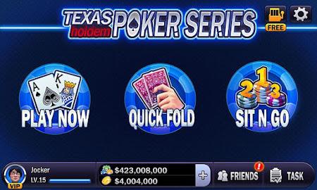 Texas Holdem - Poker Series 1.0.4 screenshot 8757