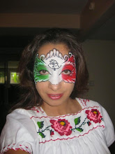 Photo: Mexico face painting by Maria, Chino, Ca 888-750-7024 http://www.memorableevententertainment.com/FacePainting/MariaChino,Ca.aspx