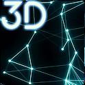 Plexus Particles 3D Live Wallpaper icon