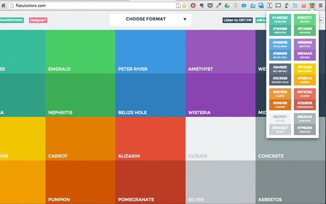 Flat Colors Guide