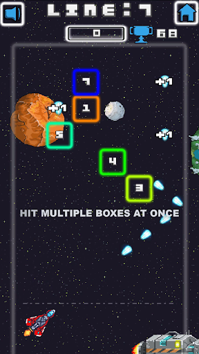 Space Blast Block Attack android2mod screenshots 1