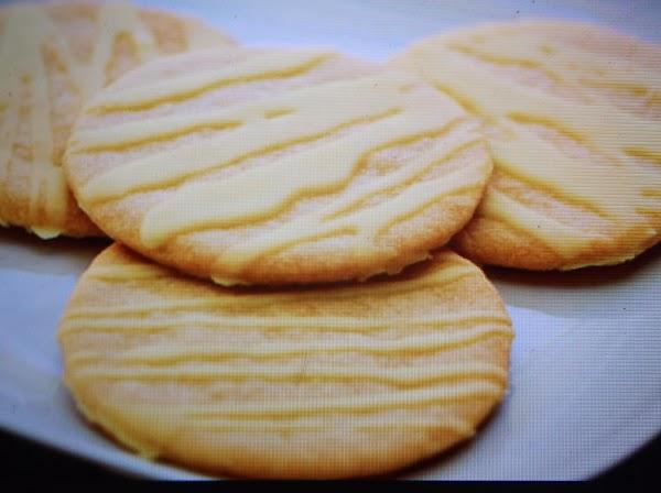 Triple Lemon Cookies With Frosting By Eddie Recipe