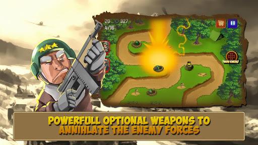 Télécharger Code Triche Tower Defense: Clash of WW2 MOD APK 1