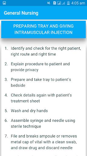 玩免費醫療APP|下載Nursing Procedures app不用錢|硬是要APP