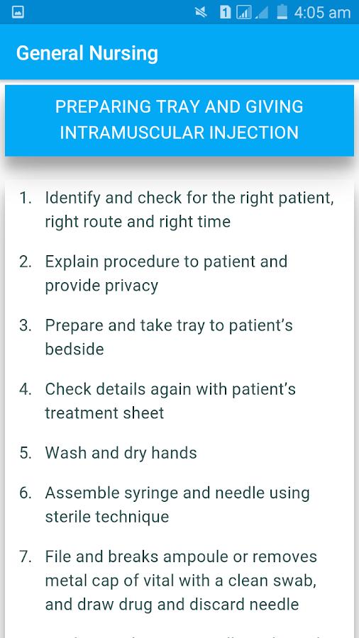 sop for nursing