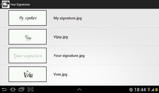 Digital Signature screenshot 7