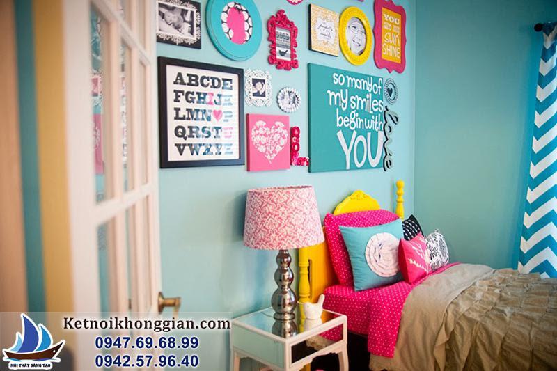 thiết kế trang trí phòng ngủ trẻ em