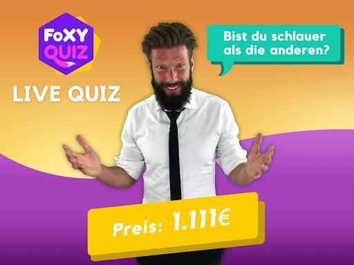 Foxy Quiz - Kostenlos spielen und Geld gewinnen 1.0.8 screenshots 6