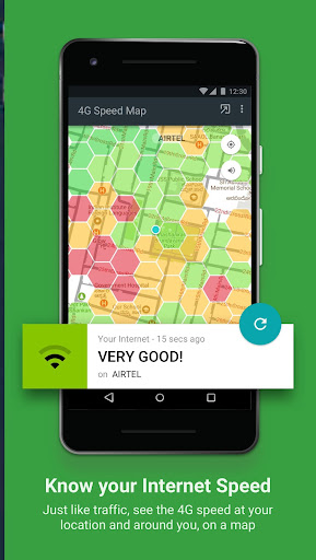 Fastah 4G Finder: 4G monitor + internet speed maps screenshots 1