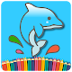 Dolphin Coloring Pages For Kids 2019 APK
