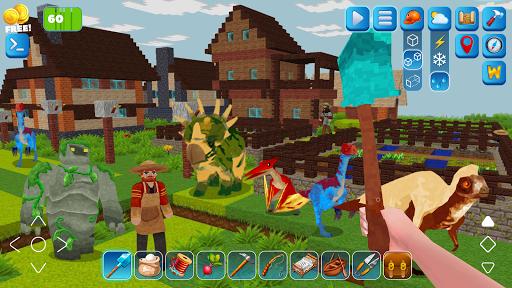 RaptorCraft 3D: Survival Craft u25ba Dangerous Worlds 5.0.4 screenshots 5