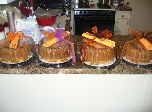 Carmel Sour Cream Pound Cake Recipe