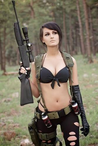 Image result for sssniperwolf metal gear solid