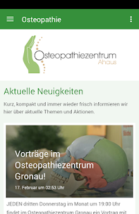 Osteopathiezentrum Ahaus- screenshot thumbnail
