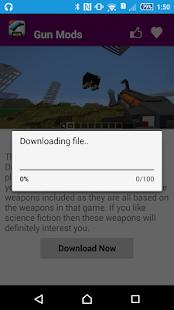 Gun Mod For MCPE. screenshot