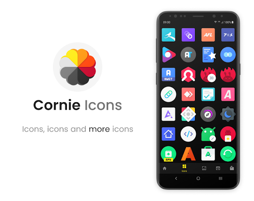 Screenshot for Cornie Icons in Hong Kong Play Store