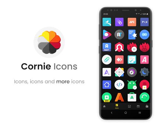 Cornie - Icon Pack screenshot 4