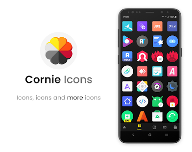 Cornie - Icon Pack Screenshot