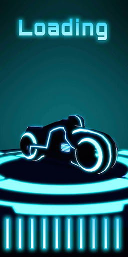 Nom du jeu: Neon Bike Race captures d'u00e9cran 1