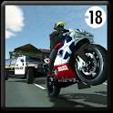 Motorbike vs Police icon