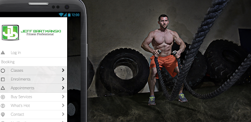 Plan and Schedule your sessions and classes with Jeff from your Mobile device.