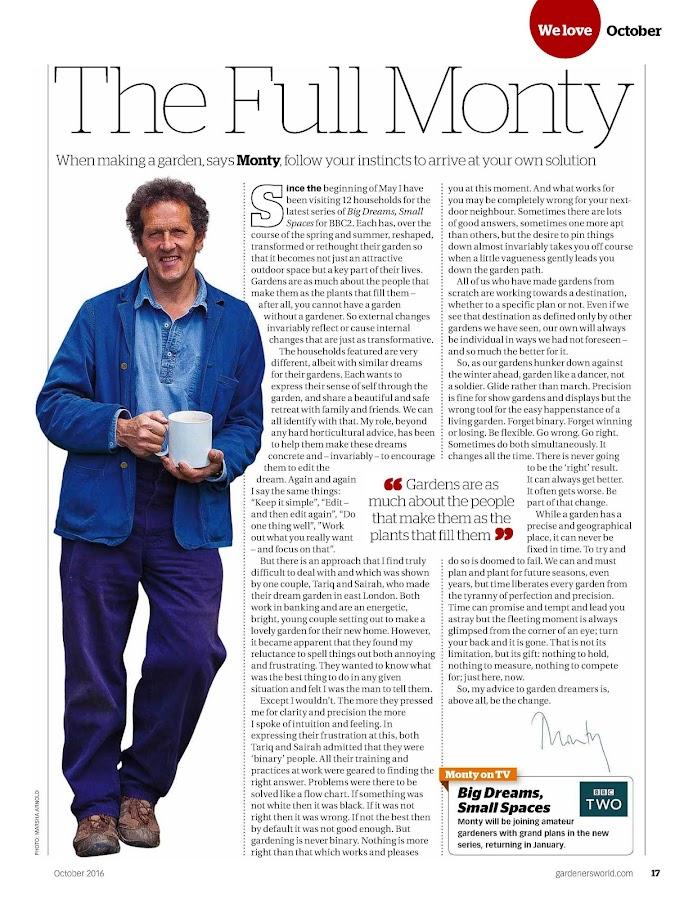 Gardeners' World Magazine- screenshot