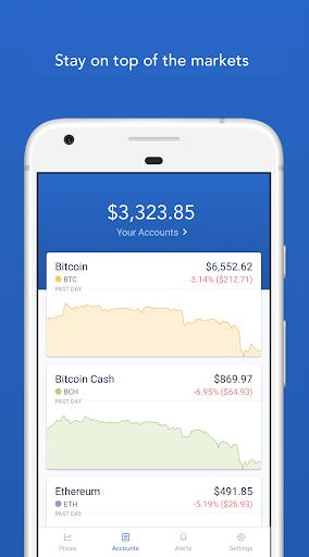 Coinbase - Buy Bitcoin & more. Secure Wallet. 5.5.1 screenshots 1