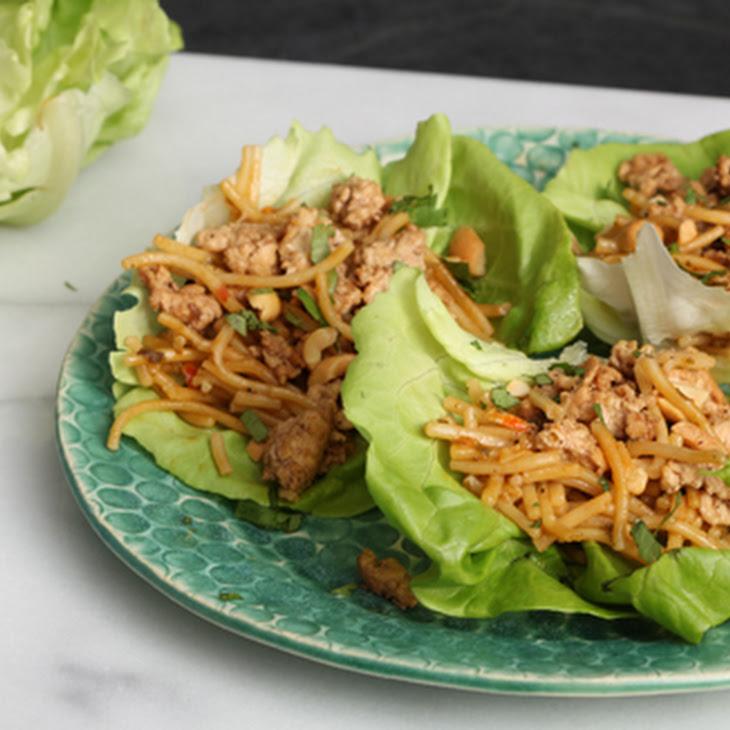 Firecracker Lettuce Wraps Recipe
