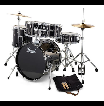 "Pearl Roadshow 22""-set - Jet Black"