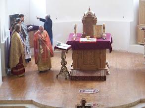Photo: Обкадження престолу